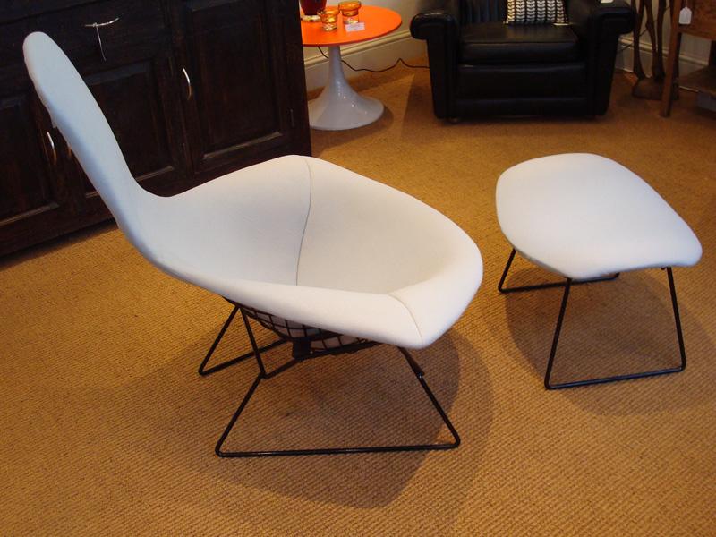 Harry Bertoia Bird Chair OttomanFootstool Josh Thomas Design – Bertoia Bird Chair Cover