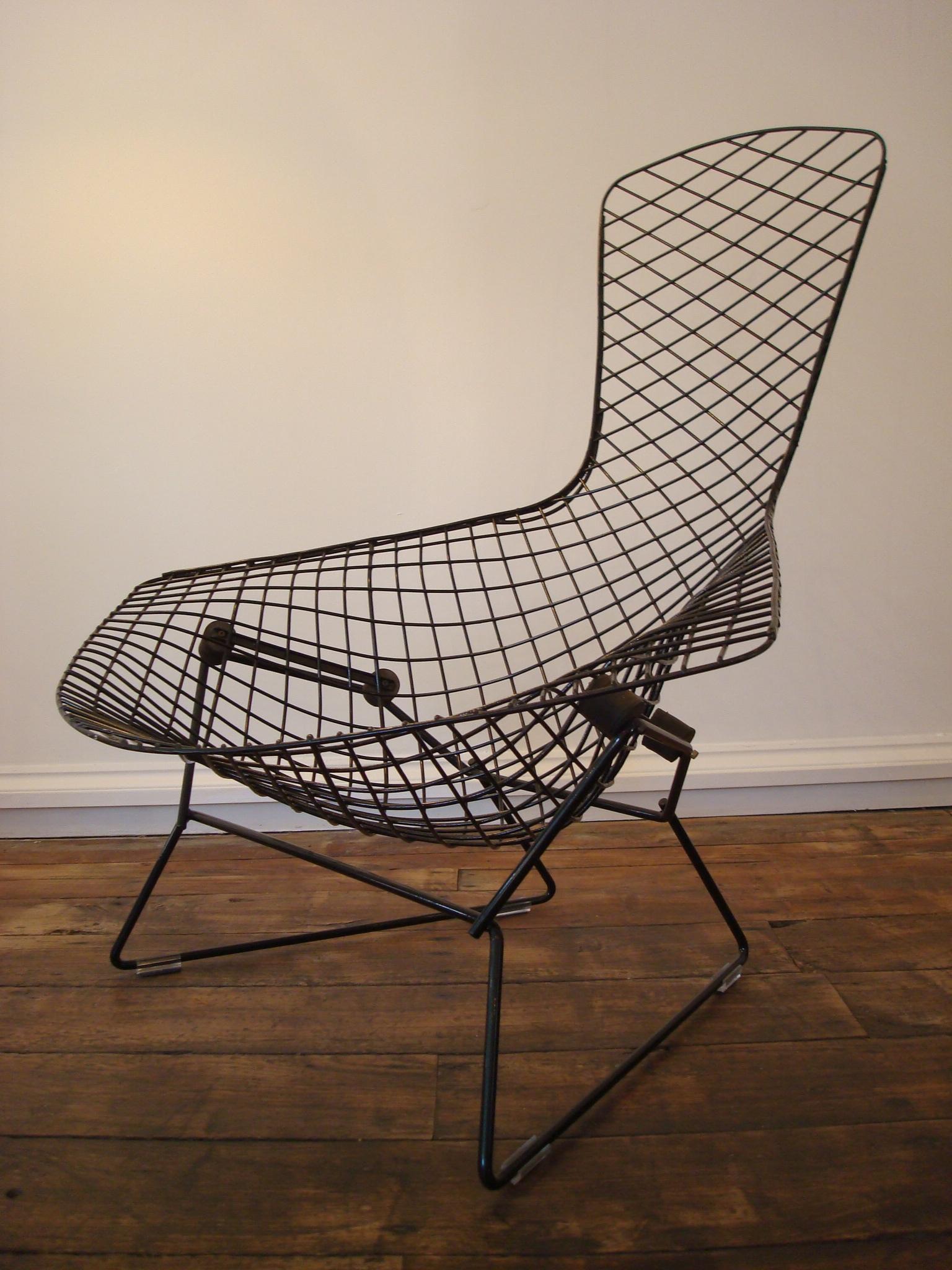 harry bertoia bird chair  ottomanfootstool  josh thomas design  - harry bertoia bird chair  ottomanfootstool